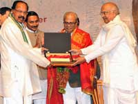 K Balachander honoured with ANR Award