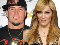 Vanilla Ice and Madonna