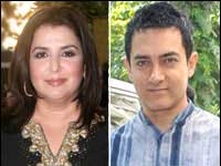 Farah Khan And Aamir Khan