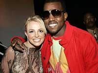 Kanye West and Britney Spears