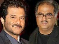 Anil Kapoor and Boney Kapoor