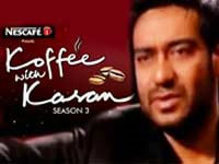 Ajay scared of KJO on Koffee With Karan