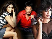Shahrukh, Kareena and Priyanka