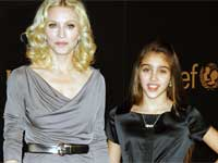 Madonna and daughter Lourdes