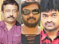 Ram Gopal Varma, Puri Jagannath and Harish Shankar