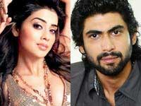 Shreya Saran and Rana Daggubati