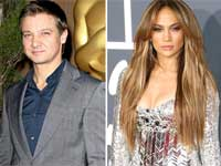 Jeremy Renner and Jennifer Lopez