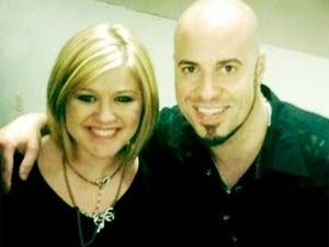 Kelly Clarkson and Chris Daughtry