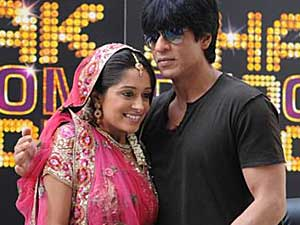 Simar with Shahrukh