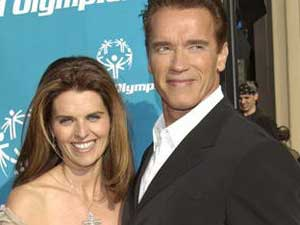 Arnold and Maria Shriver