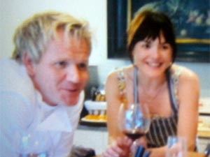 Lily Allen with Gordon Ramsay