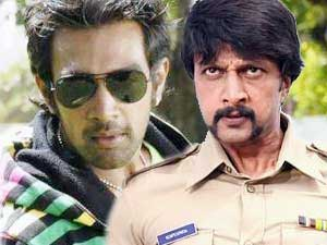 Chiranjeevi Sarja and Sudeep