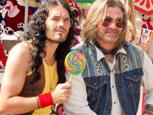 Alec Baldwin and Russel Brand
