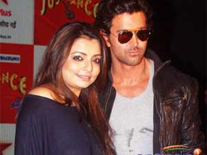 Hrithik-Vaibhavi at the conference