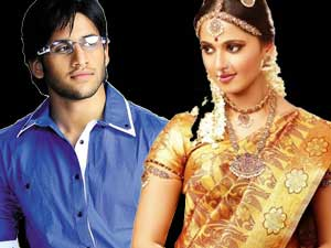 Naga Chaitanya and Anushka Shetty