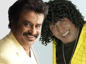 Rajinikanth and Vadivelu