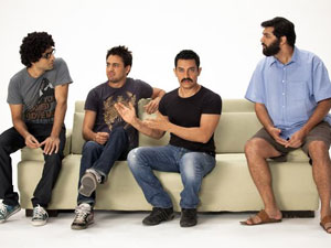 Aamir in DB promotional video