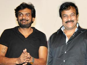Chiranjeevi and Puri Jagannath