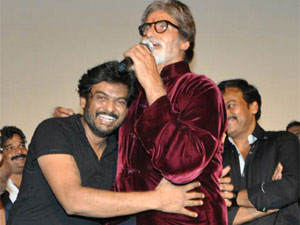 Puri Jagannath with Amitabh Bachchan