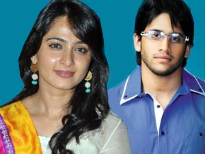 Anushka Shetty and Naga Chaitanya