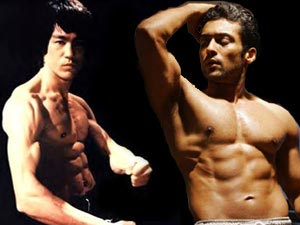 Bruce Lee and Surya