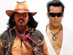 Raghava Lawrence and Salman Khan