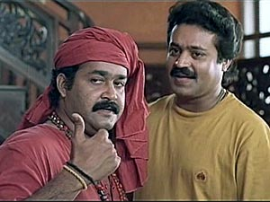 Mohanlal and Suresh Gopi