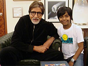 Harsh Mayar meets Amitabh Bachchan