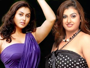 Namitha and Sona Heiden