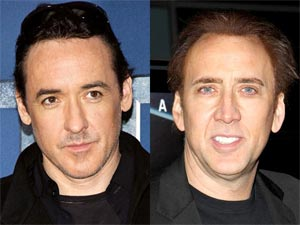 Nicolas Cage and John Cusack