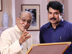 Mohan Agashe and Mammootty