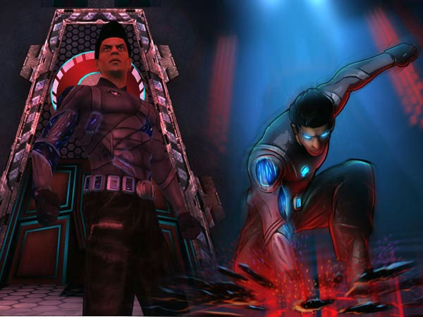 Ra.One The Game first look
