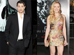 Nicholas D'Agosto and Emma Bell at Final Destination 5 premiere