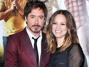 Robert Downey Jr. and his wife Susan Downey
