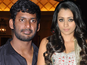 Trisha and Vishal