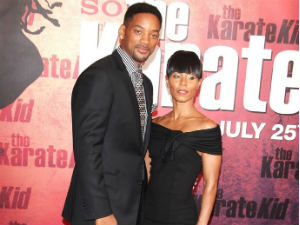 Will Smith and his wife Jada Pinkett