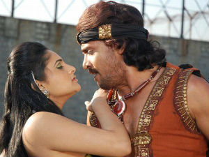 Ramya and Upendra in Bhimoos Bang Bang Kids