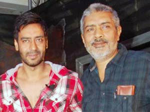 Ajay Devgan and Prakash Jha