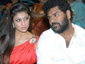 Nayantara secretly marries Prabhu Deva