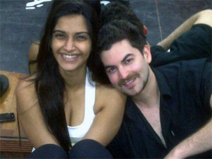 Sonam Kapoor with Neil Nitin Mukesh
