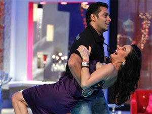 Salman is Preity's first guest on SRK's show