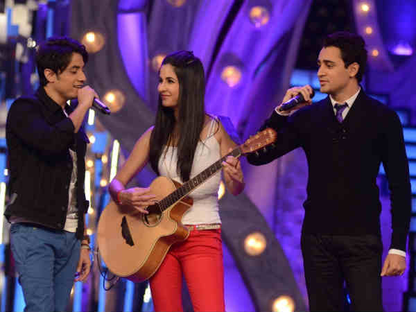 Imran Khan, Katrina Kaif and Ali Zafar on Just Dance