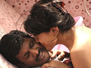 Sameera Reddy kisses Vishal