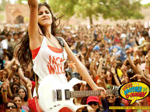 Katrina Kaif's rockstar avatar in Mere Brother Ki Dulhan