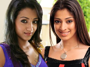 Trisha and Lakshmi