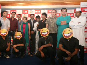 BIG Indian Comedy Awards announcement event