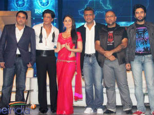 Shahrukh Khan at the Ra.One music launch