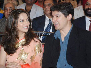 Madhuri Dixit Nene with husband Dr. Sriram Nene