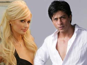 Shahrukh Khan and Paris Hilton