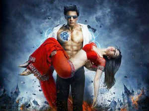 Shahrukh and Kareena in Ra.One